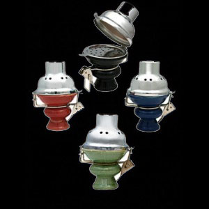 wind cover hookah bowl