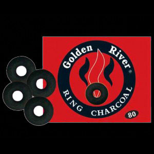 Golden river ring charcoal 50mm quicklight charcoal